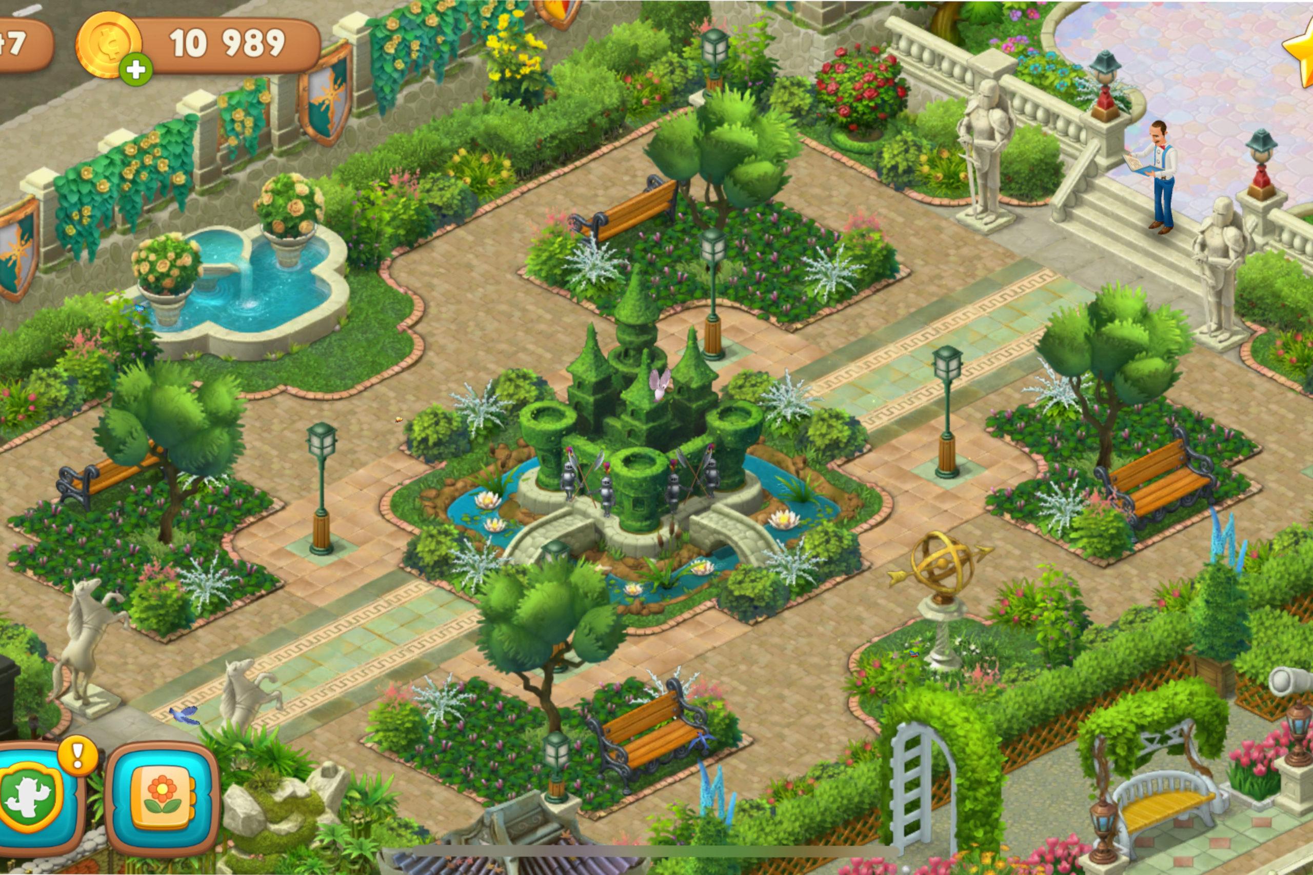 スケイプ ミニ ゲーム ガーデン